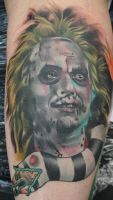 Beetlejuice Tattoo by vodordibat