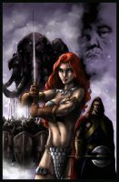 Red Sonja Color job by Destinyfall