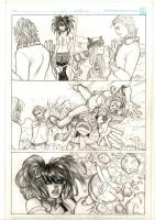 RUNAWAYS 2 - PAGES 19 by PaolaCianfarani