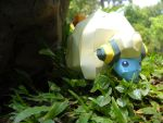 Coming out suddenly - Mareep by Toshikun