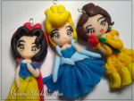 Princess Trio by DarkettinaMarienne