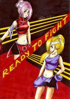 Ready to fight by Nekkohime