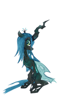 Queen Chrysalis by Kna