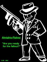 Pipboy Gangster by Almighty-Pipboy