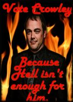 Vote for Crowley by PatriciaTepes