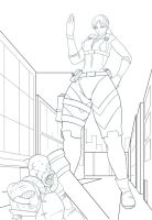 GTS Jill Valentine -commish by Kojiro-Brushard
