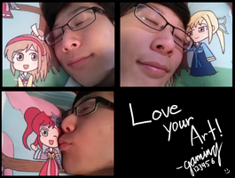 Love Your Art! by gaming123456
