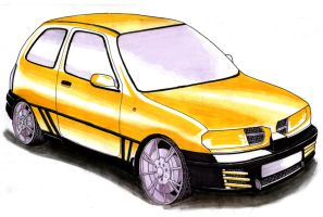 Nissan Micra concepts by Fetid-Wreck