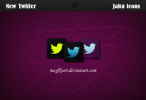 New Twitter Jaku icons by MayFlyArt