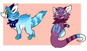 Fluffy dragon adopts open by Pand-ASS