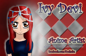 My Business Card - Anime Artist by IvyDevi