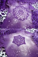 Sacred Starflower - Front and Back by Starjuice