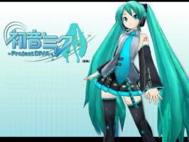 Project Diva Miku Wallpaper by Myth-P