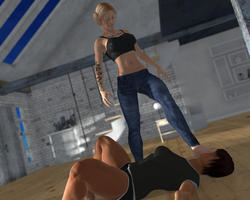 Commission - Apartment Beatdown Part 19 by Dick--Justice