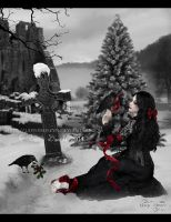 Christmas Mourning by LadyxBoleyn
