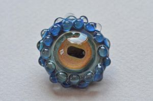 Octopus Eye Pendant, Glass by cold-in-the-north