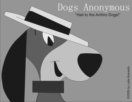 All Hail the Anthro Dogs--GRAY by DogsAnonymous