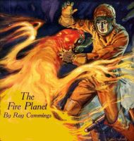THE FIRE PLANET cover art by peterpulp