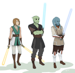 Jedi, Jedi Everywhere. by Tekka-Croe