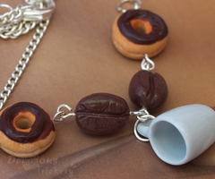 Coffee Break Necklace by DeliciousTrickery