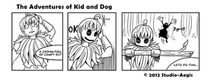 Kid And Dog - 004 by Paladin-Ciel