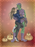 Green Goblin Commission 2 by SympatichnaCzarina