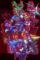 Megaman ZX by Pedrovin