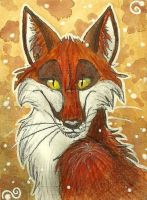 ACEO: Maybe by Zerda-Fox