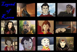 Legend of Korra Desktop by mko1115