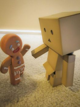 Danbo and Gingy by amormimosse