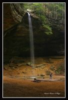 Falls at Ash Cave by TRBPhotographyLLC