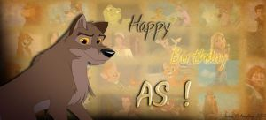 Happy Birthday AS ! by Amyloup