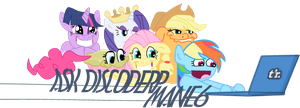 ASK-Discorderp Mane6 banner by Fundz64