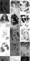 Sketches from Lille Fest. by Cinar