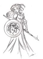Pallas Athena by lsyw