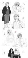 The Hobbit - RPG Doodles by RedPassion