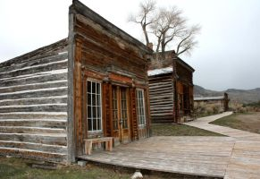 Bannack Ghost Town 40 by Falln-Stock