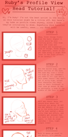 Profile Head Tutorial by R-U-B-I-I