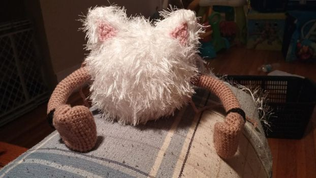 Primeape Amigurumi - WIP by Wykked-As-Syn