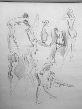 3 and 5 Minute Sketches by arthurloftis
