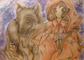 little red riding hood - Colo by Angel-Sanne