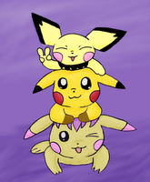Stack of Chus by pichu90