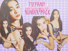 Pack PNG #100 Tiffany (Lion Heart) by XieraaaPark