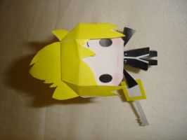 Papercraft Roxas by Millisar