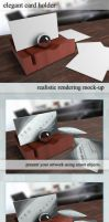 Card Holder Mockup by TeoNikif