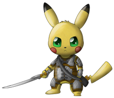 RQ: Desmond the Pikachu - Past form by Tamabelle