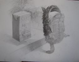 entrance exam drawing 2. by ropeliker