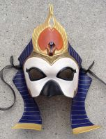 Egyptian Sun God, Ra Mask V.2 by b3designsllc
