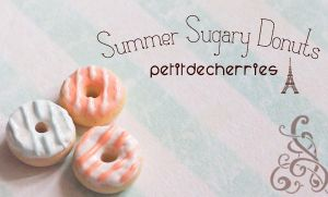 Summer Sugary Donuts by PetitDeCherries