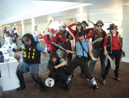 TF2 at KintokiCon by YamiKatt